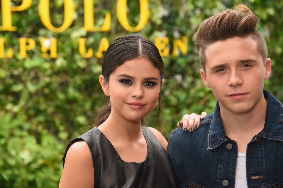 Selena Gomez and Brooklyn Beckham