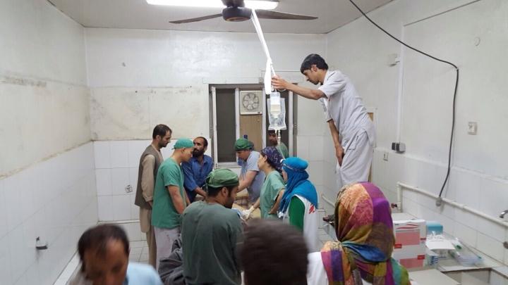 MSF trauma centre