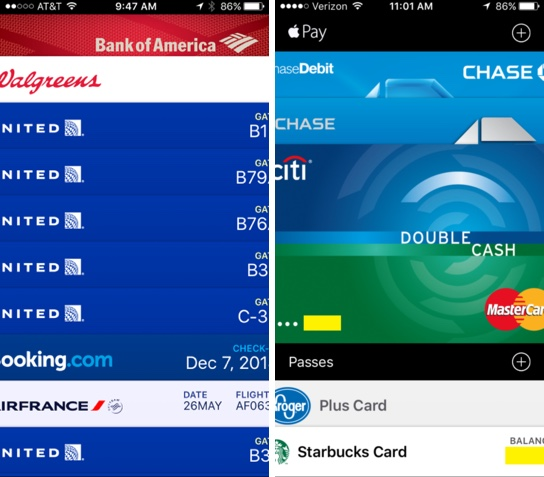 Apple Wallet Display issues