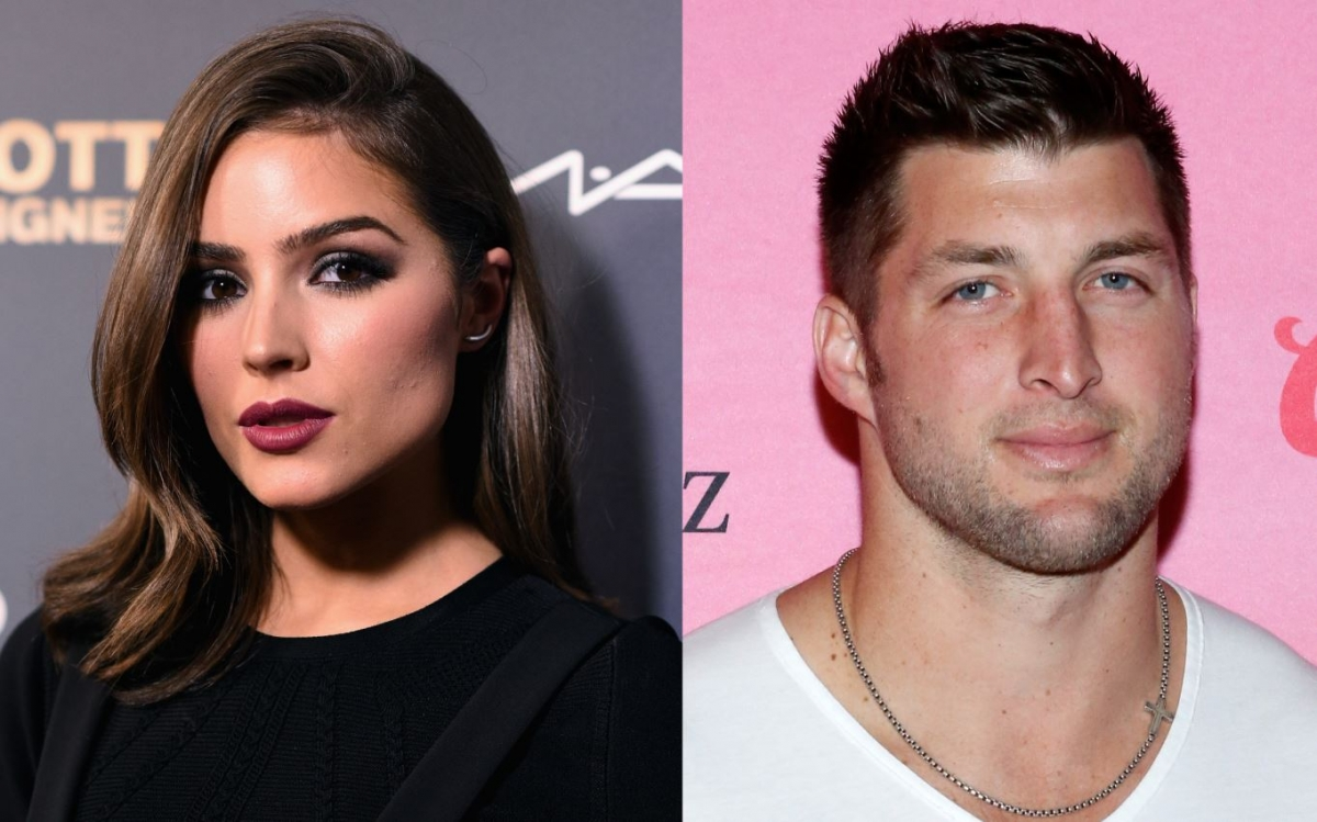 Olivia Culpo and Tim Tebow
