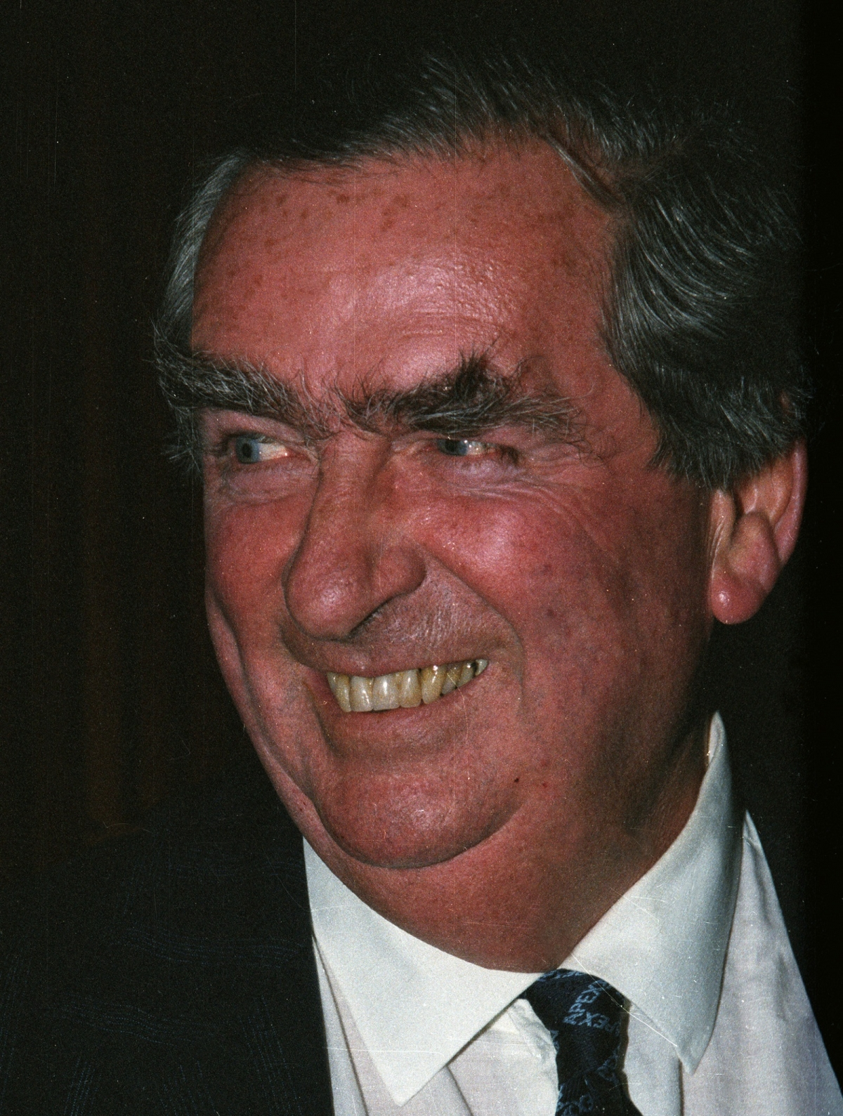 Denis Healey MP in 1986