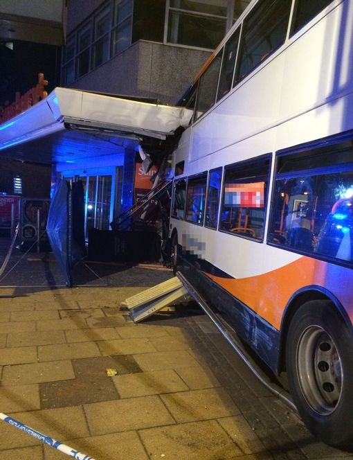 Coventry bus crash