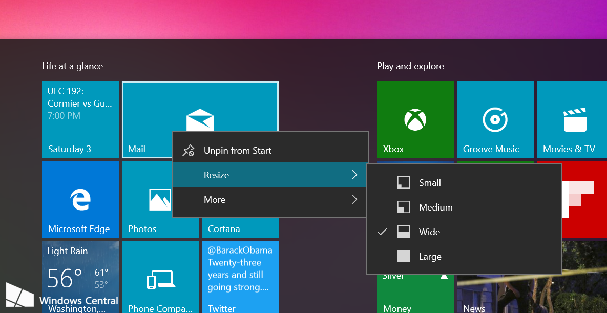 Windows 10 leaked build 10558