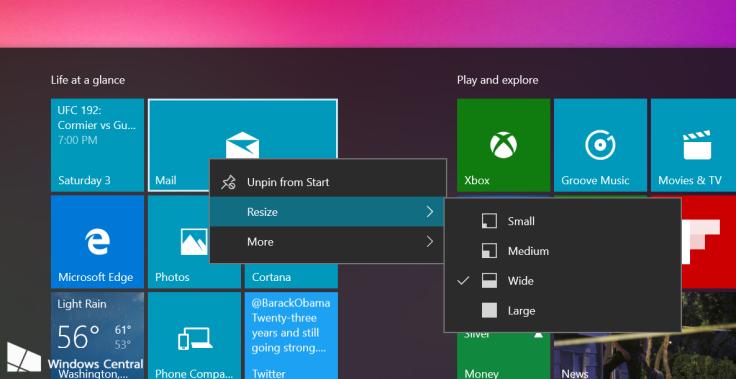 Windows 10 leaked build 10558