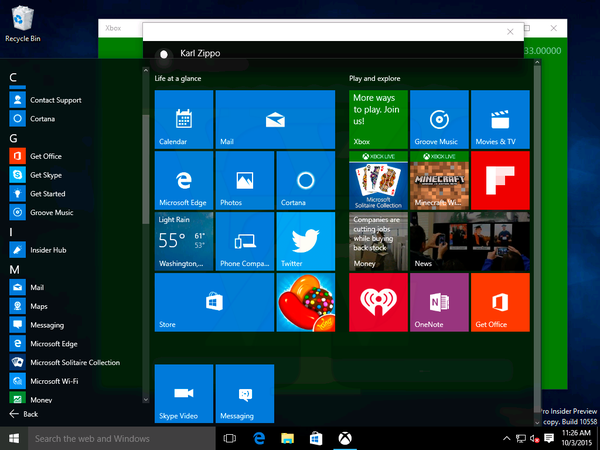 Windows 10 build 10558 leaks online with rumoured new messaging and windows 10 build 10558 leaks online with rumoured new messaging and skype video apps photos ccuart Choice Image