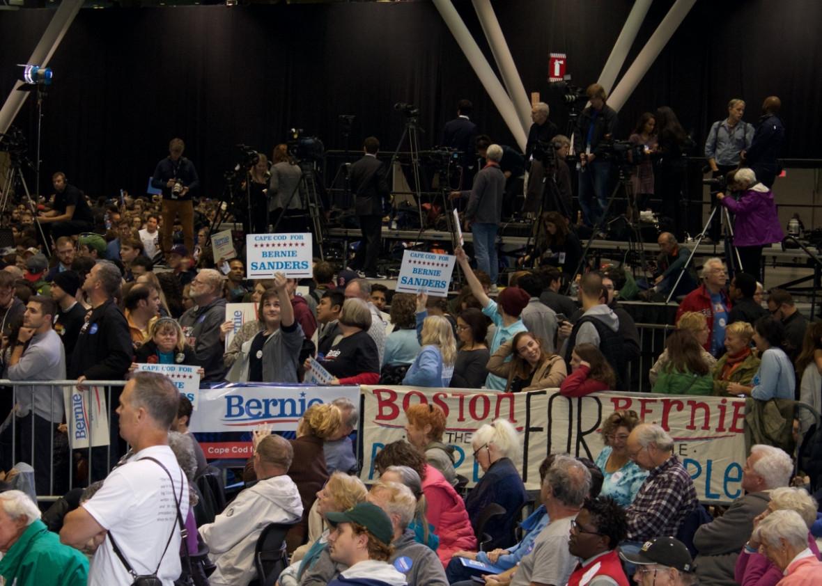 Bernie Sanders Boston