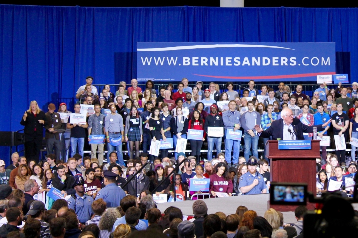 Bernie Sanders Boston