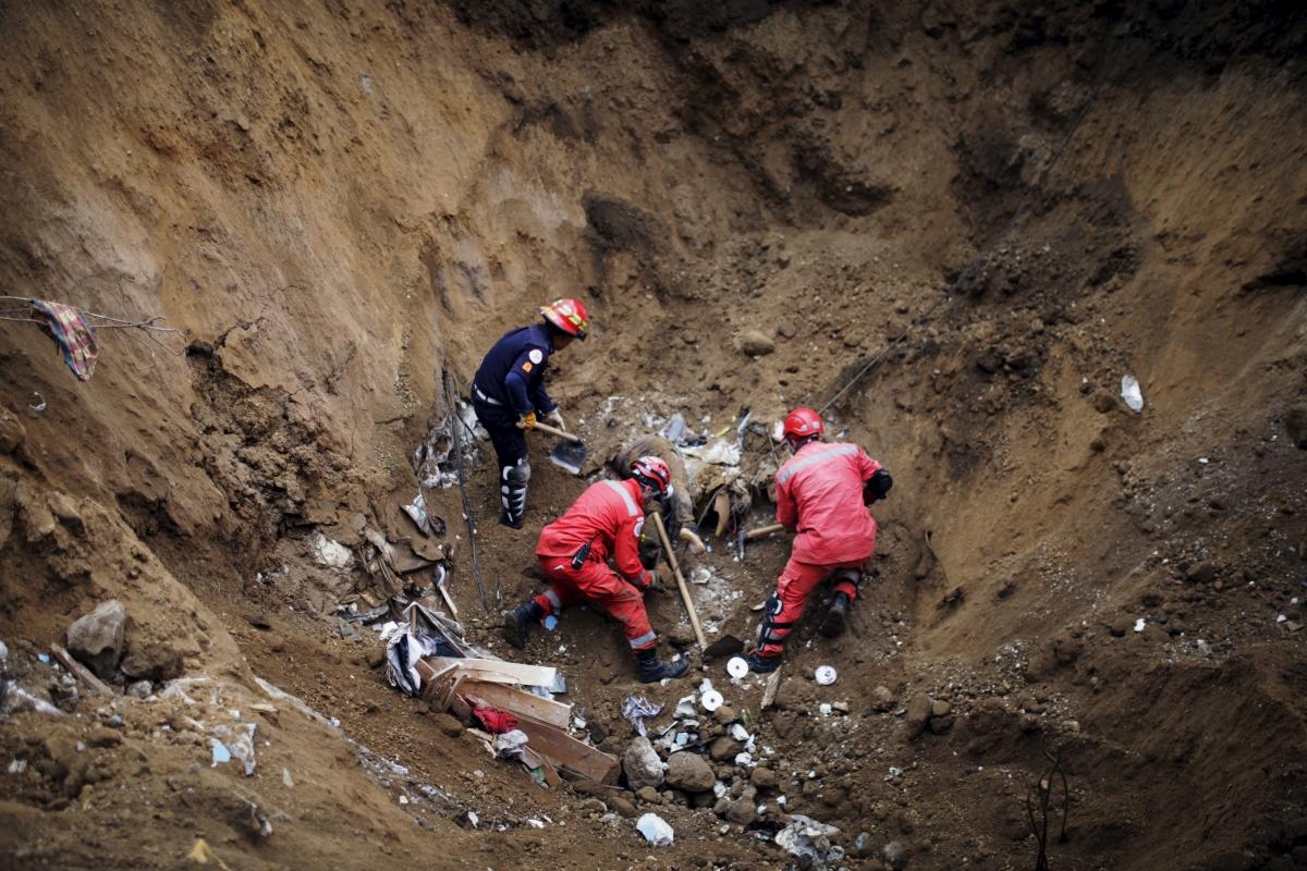 Guatemala landslide death toll