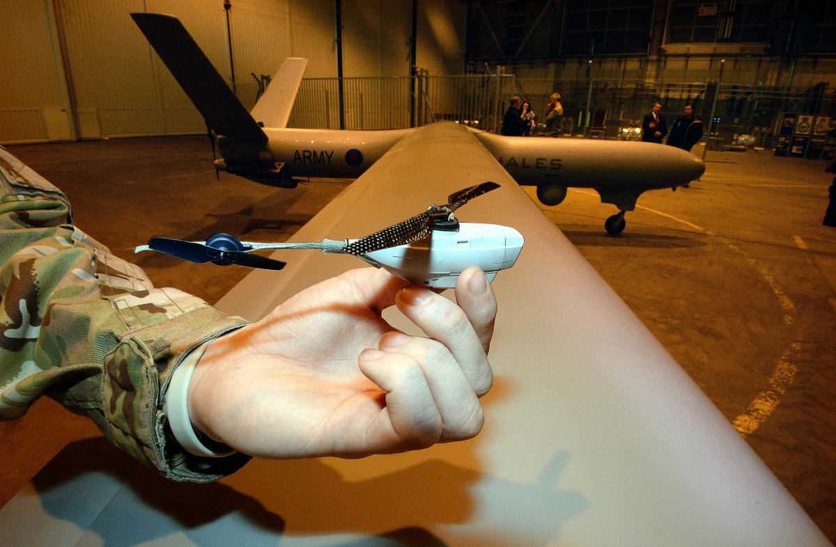 RAF drones