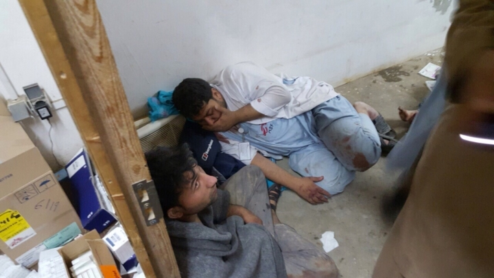 Kunduz MSF hospital bombing victims