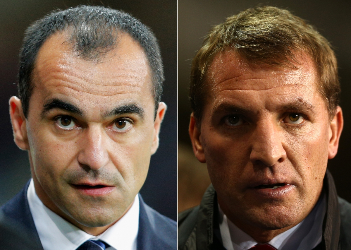 Roberto Martinez and Brendan Rodgers