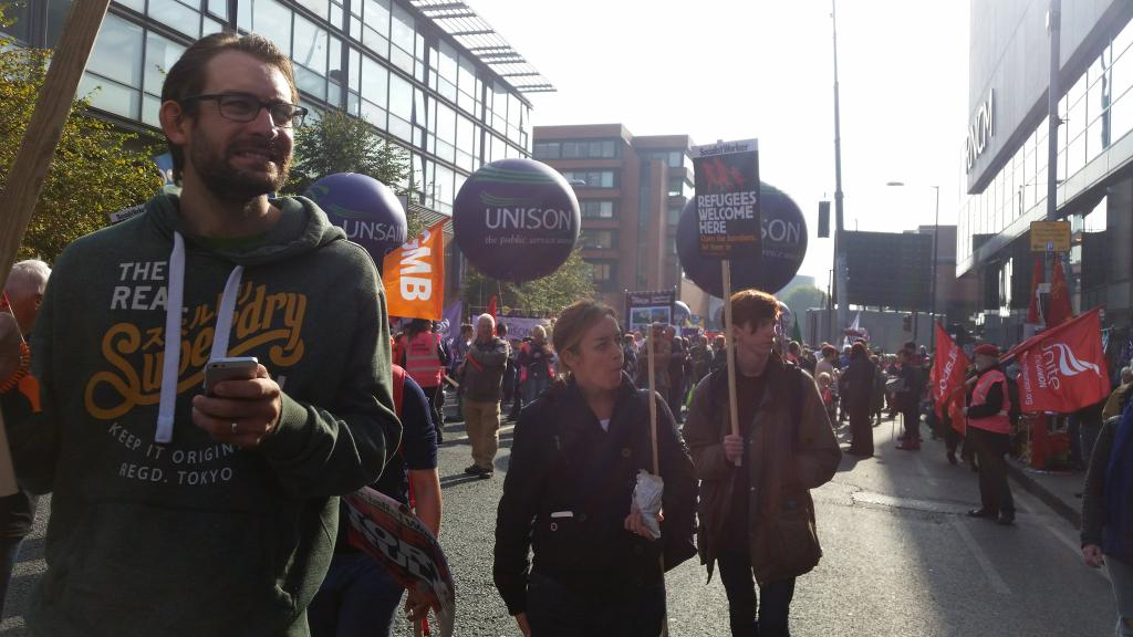 Manchester anti-austerity march October 2015