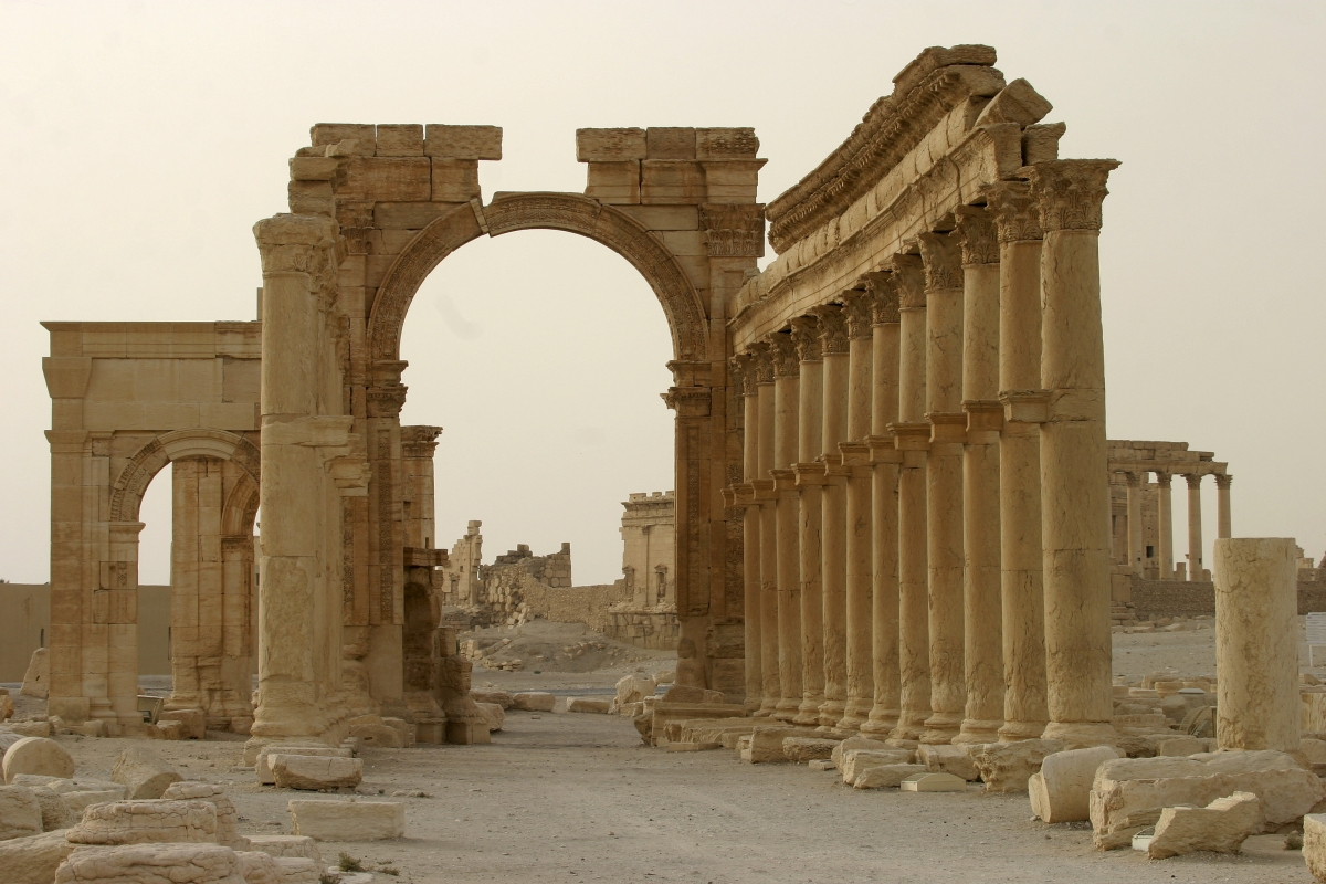 Isis Palmyra destruction