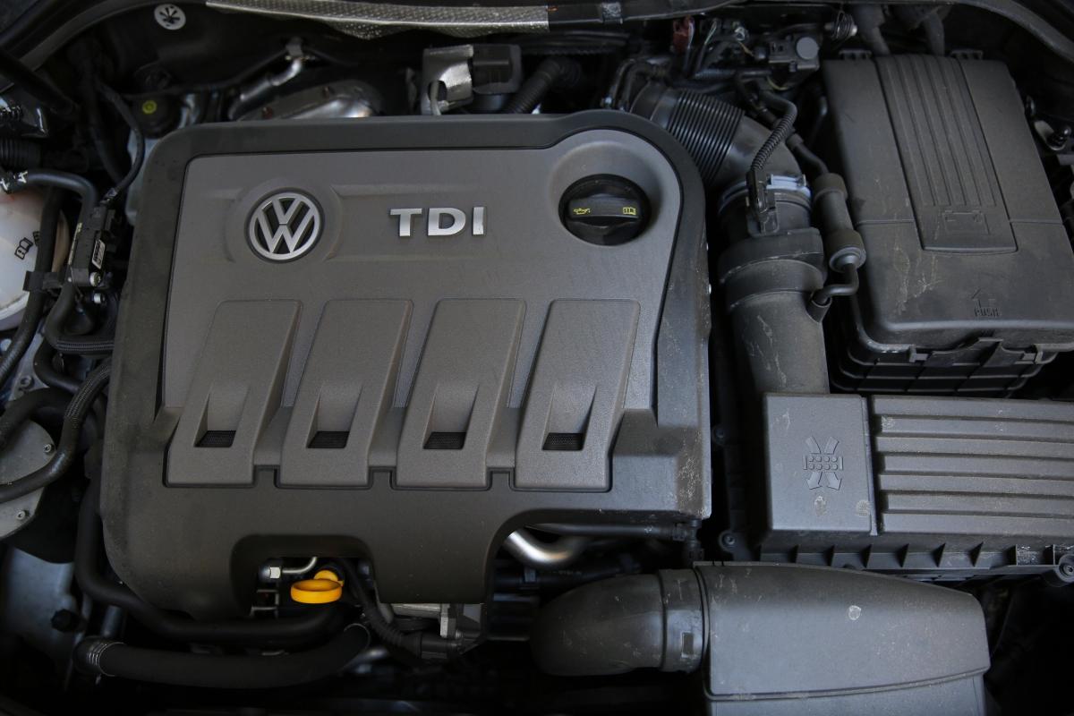 TDI diesel engine, VW Passat