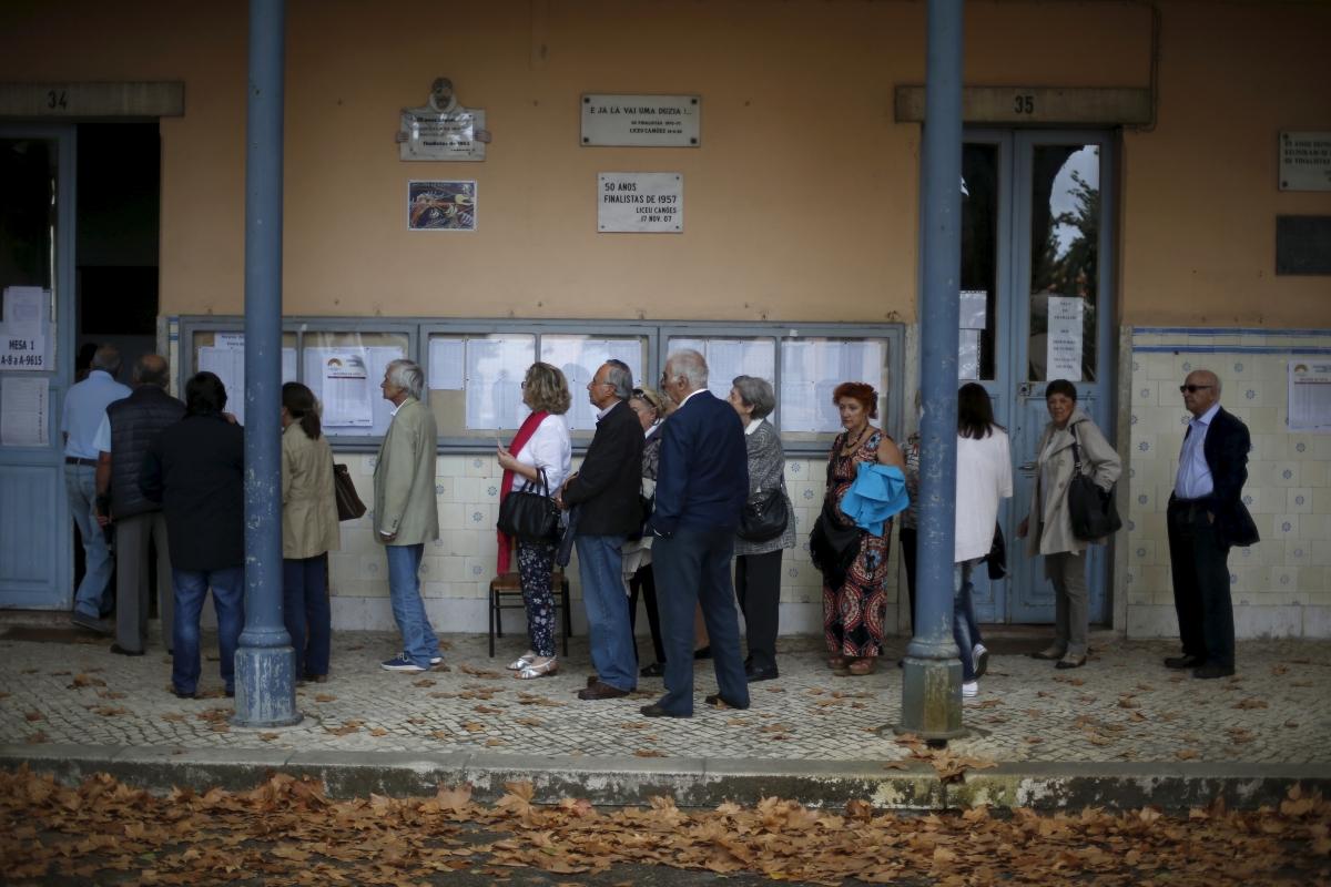 Polling station, Lisbon