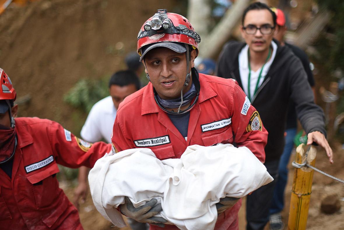 Guatemala landslide