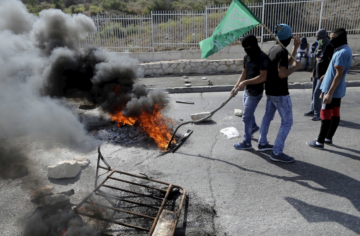 Palestinian East Jerusalem clashes