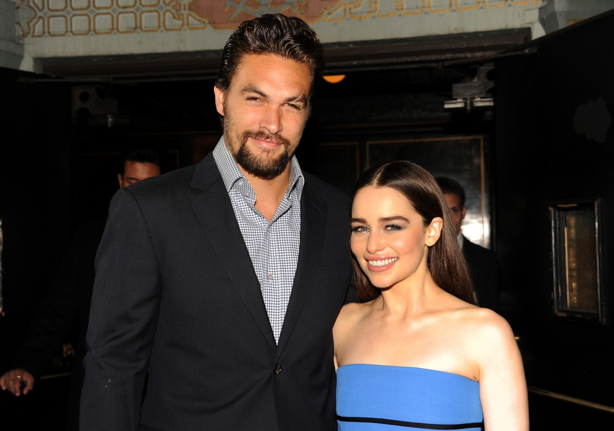 Game Of Thrones star Emilia Clarke has seen Aquaman Jason ...