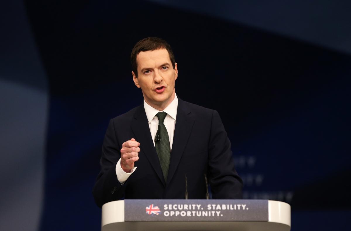 George Osborne in Manchester