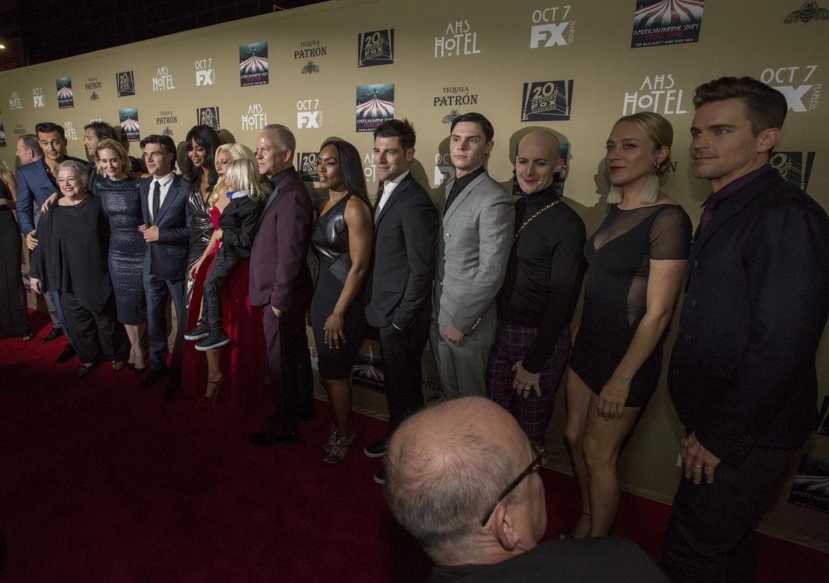 American Horror Story: Hotel premiere
