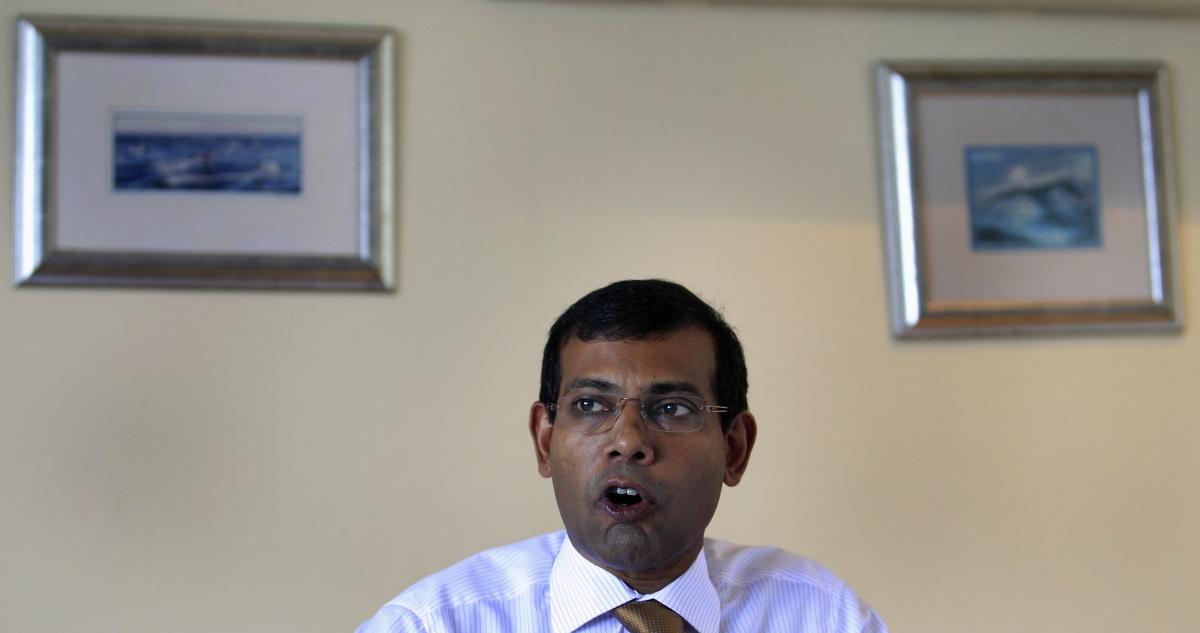 Former Maldives President Mohamed Nasheed