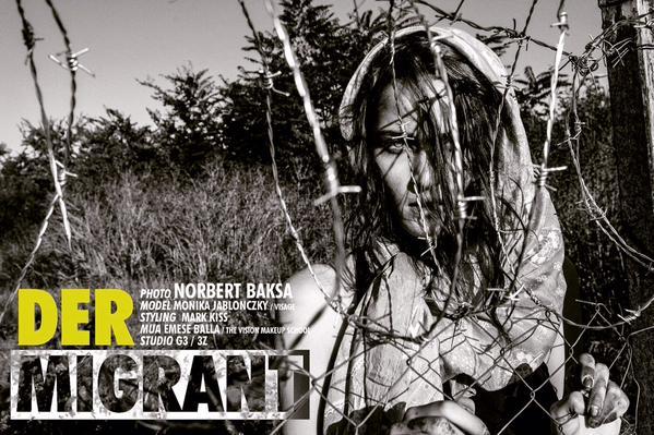 Migrant fashion shoot Hungarian photographer