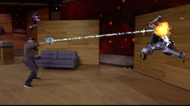 HoloLens: Microsoft shows off \'mixed reality\' game Project