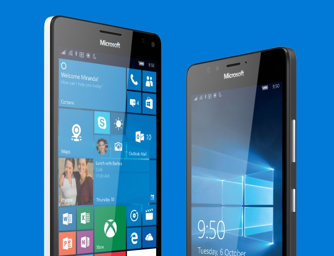 Microsoft cuts price of Lumia 950 and 950 XL in UK as Windows Phone market share grows