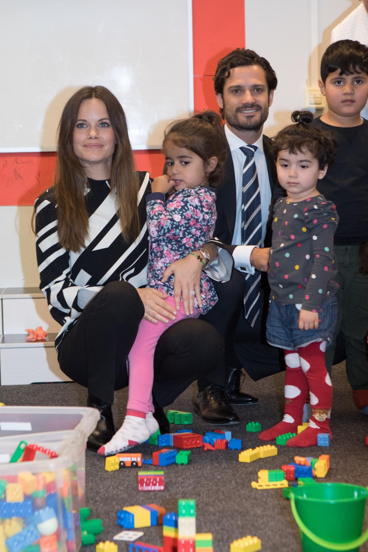 Princess Sofia and Prince Carl