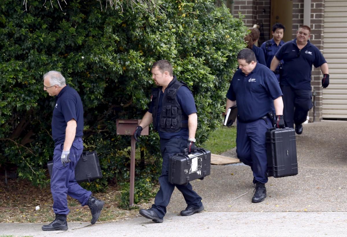 Sydney terror shooting police raid