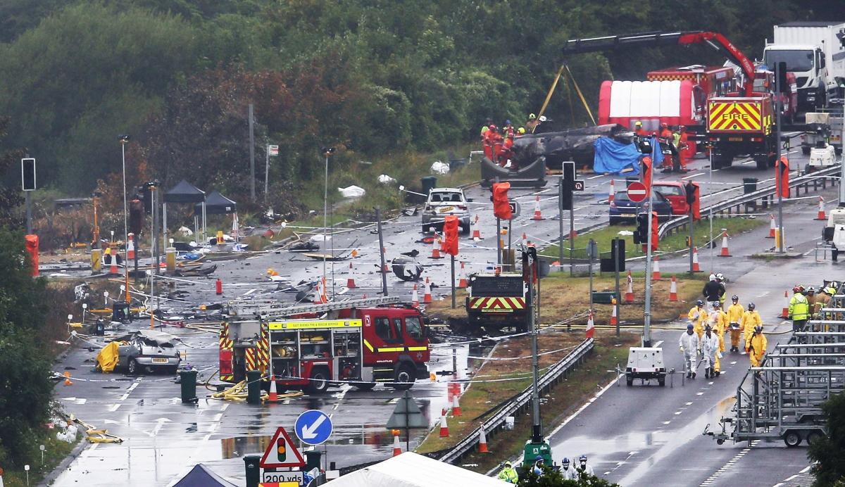 Shoreham crash site