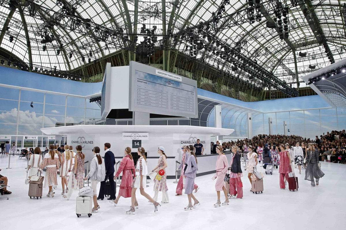 Chanel at Paris Fashion Week