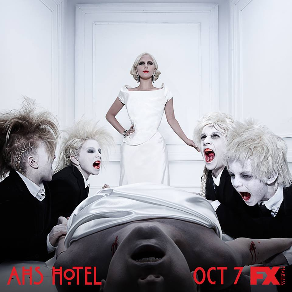 watch american horror story hotel premiere live online lady gaga debuts as vampire countess