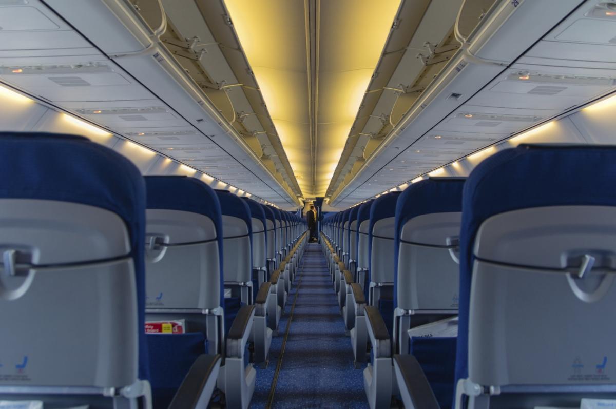 Airbus plane seat design