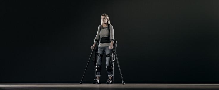 ekso bionics powered exoskeleton wearable robotics