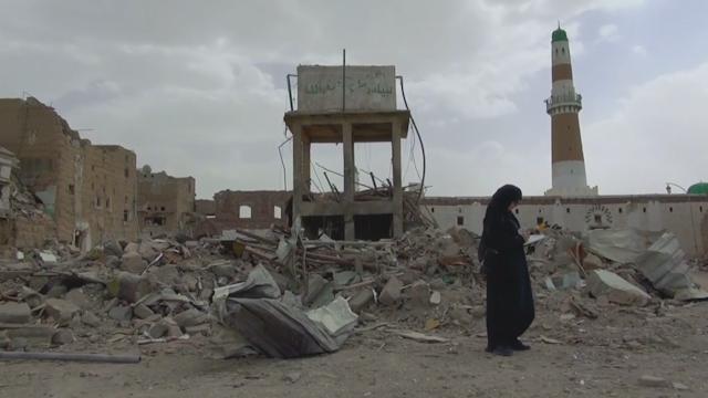 Yemen destruction