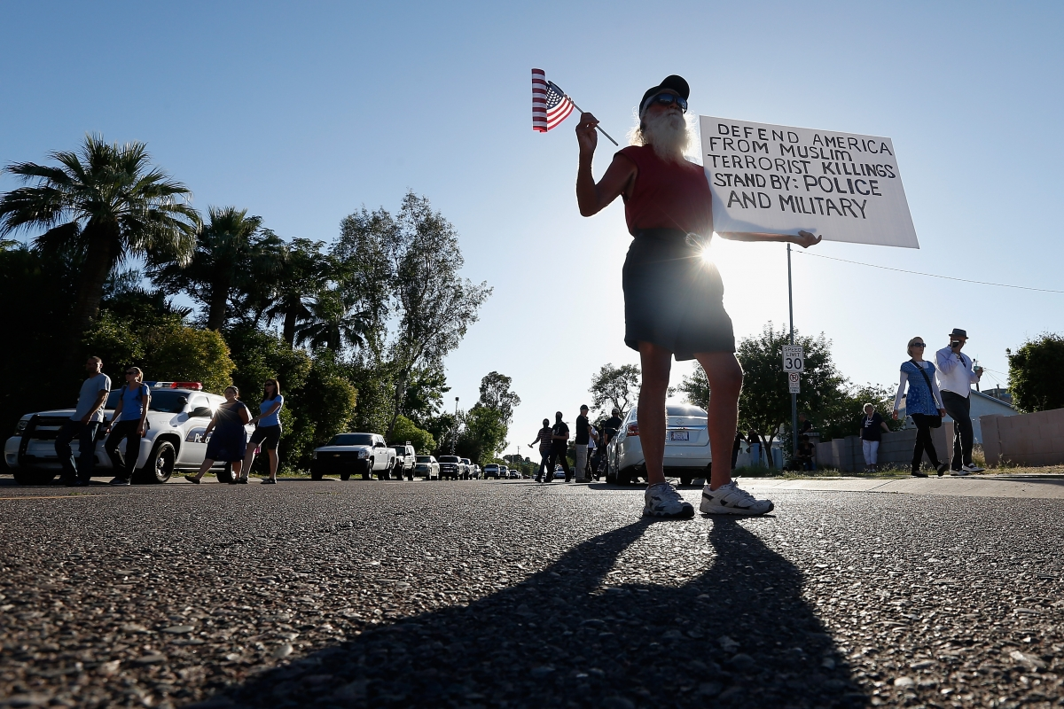 Anti-Muslim rally USA