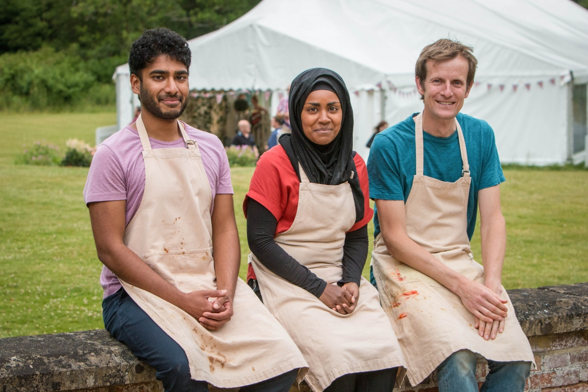 Great British Bake Off Final Winner 2015 Nadiya Hussain