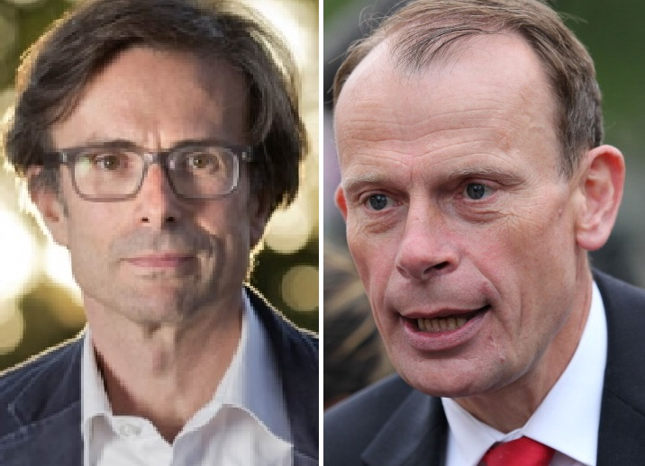 Robert Peston and Andrew Marr