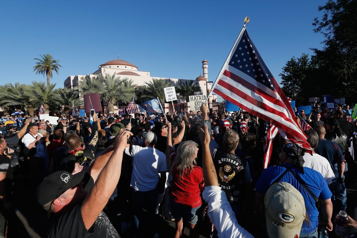 Anti-Islam rally in Phoenix