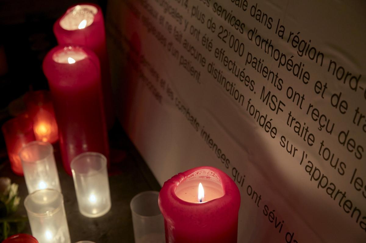 MSF Kunduz memorial