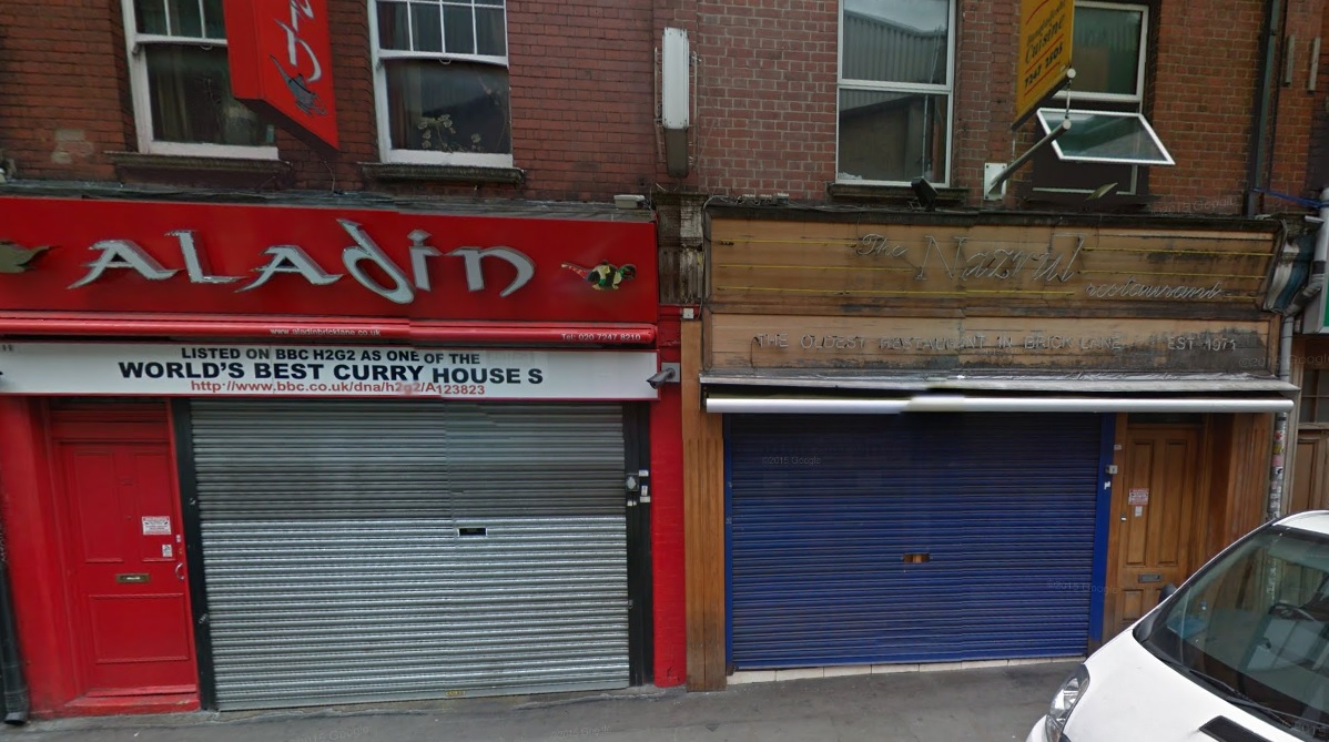 Aladin Nazrul curry London violence