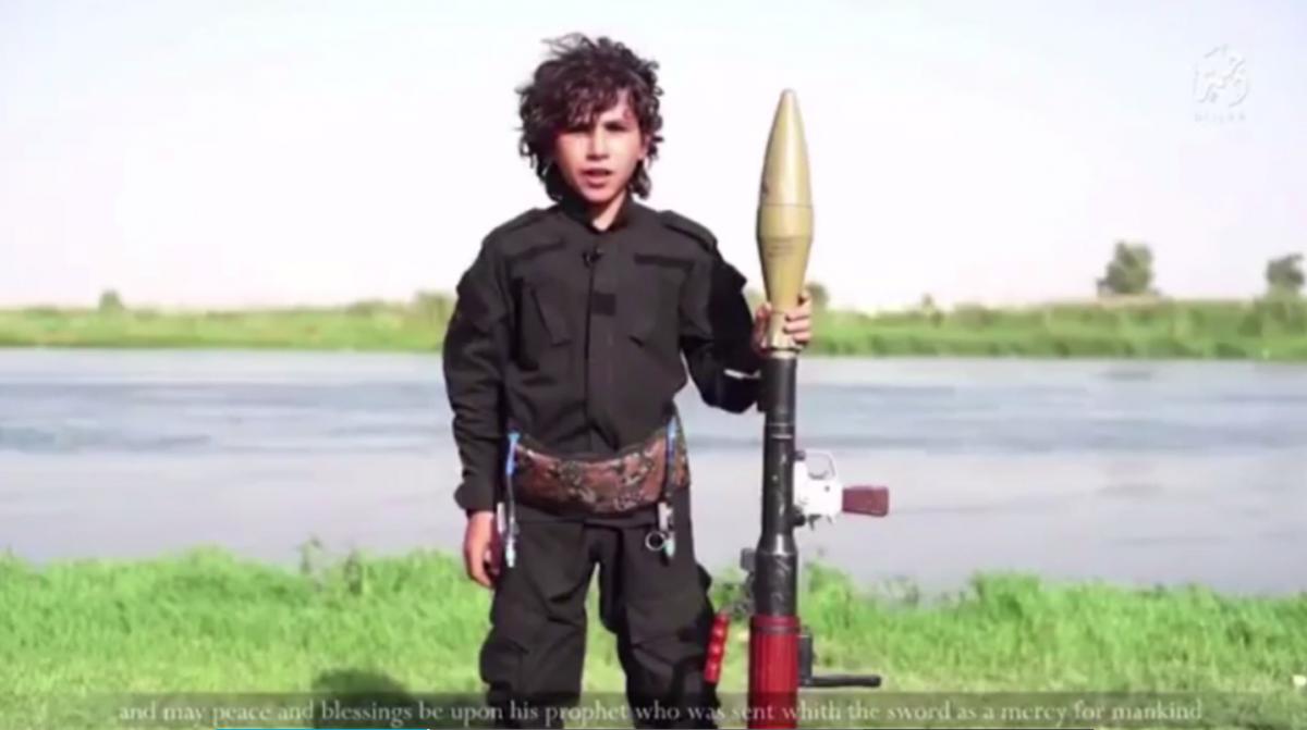 Isis child militant video