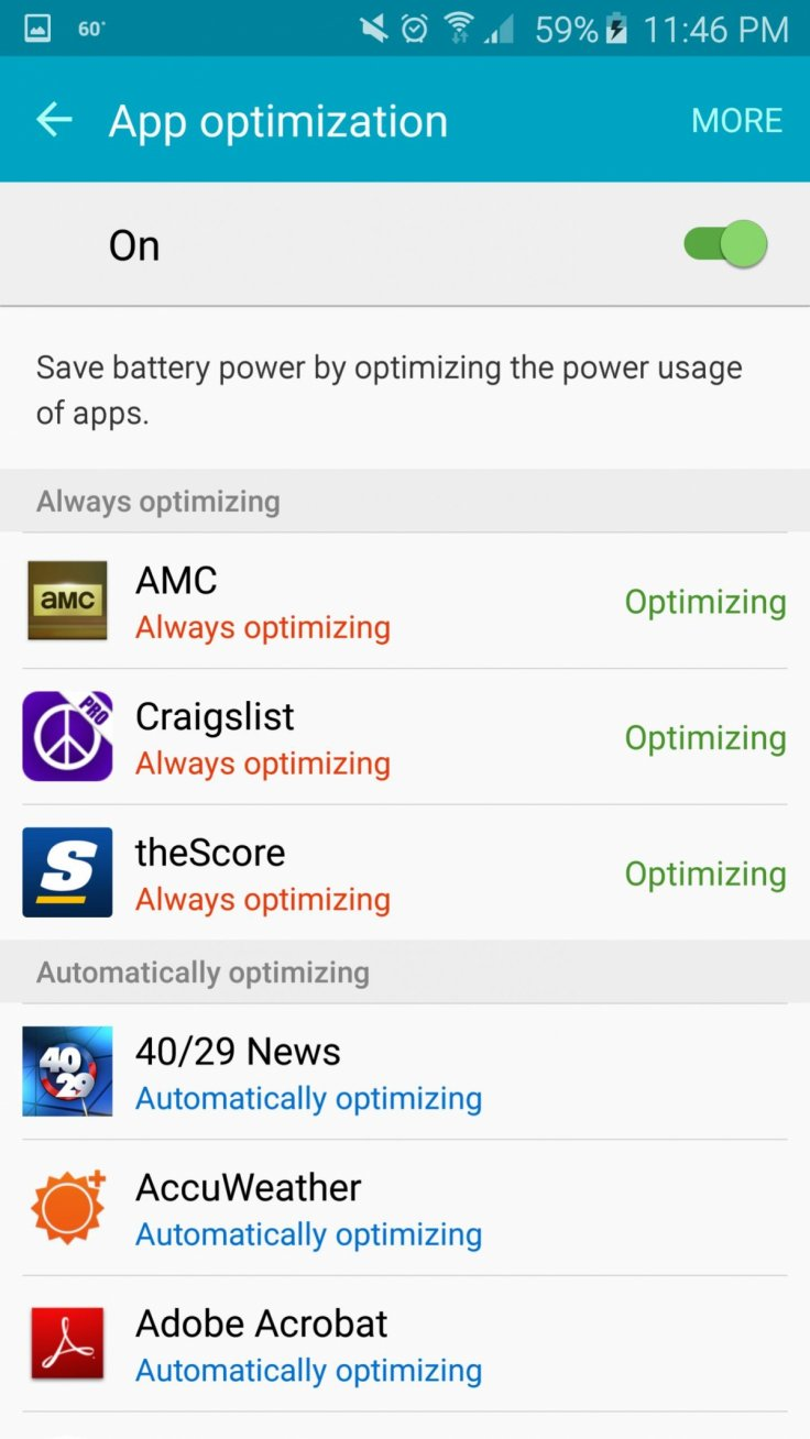 Galaxy S6 battery fix
