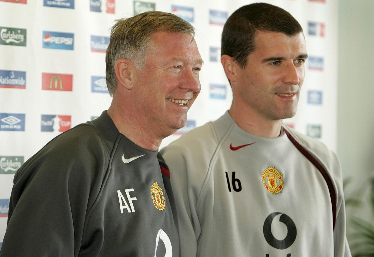 Sir Alex Ferguson & Roy Keane