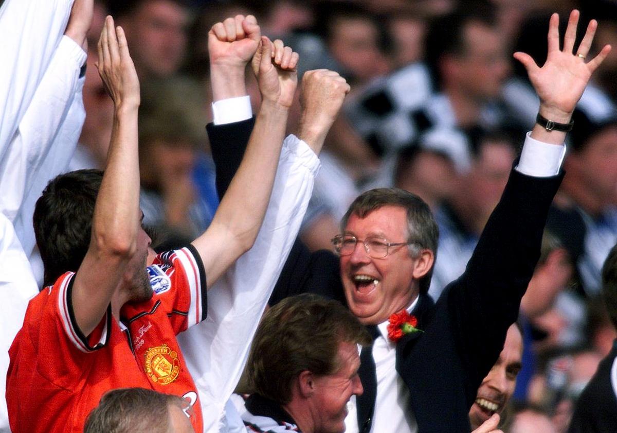 Roy Keane & Sir Alex Ferguson