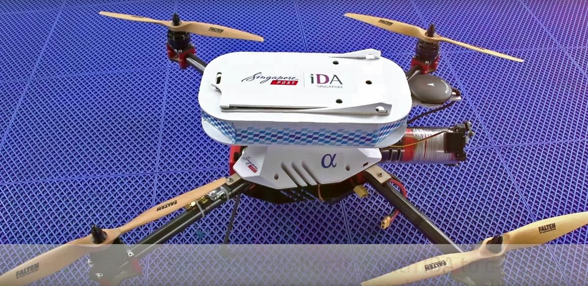 SingPost Alpha Drone