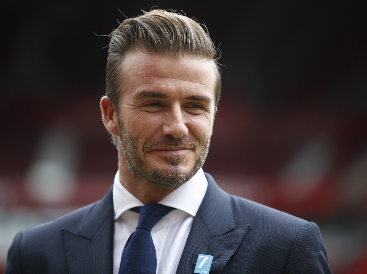 Eu referendum football icon david beckham backs remain - David beckham ...