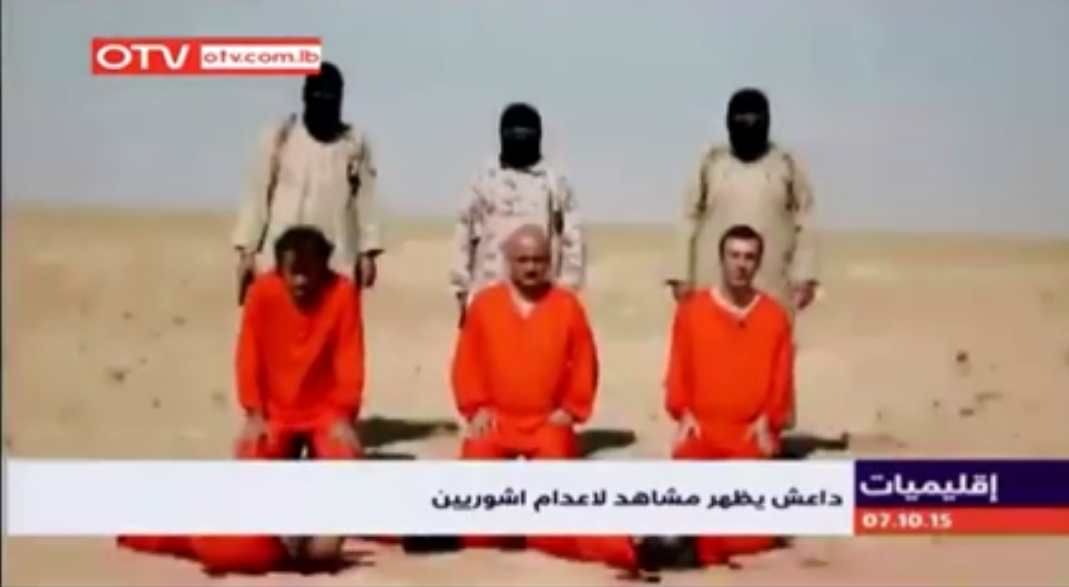Assyrian Christians executed Isis