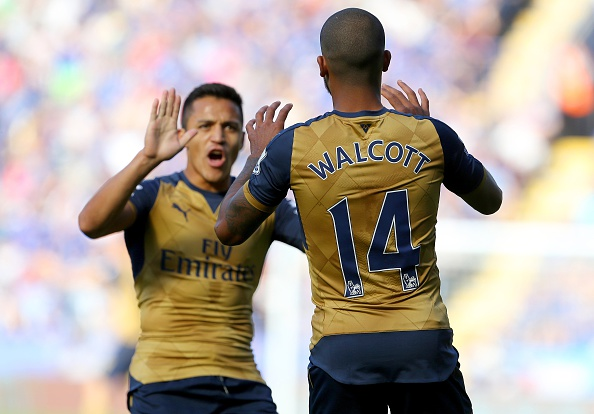 Theo Walcott and Alexis Sanchez